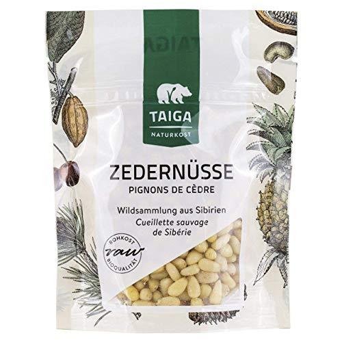 Taiga Naturkost - Sibirische Zedernüsse - Bio - Rohkost - 70 g