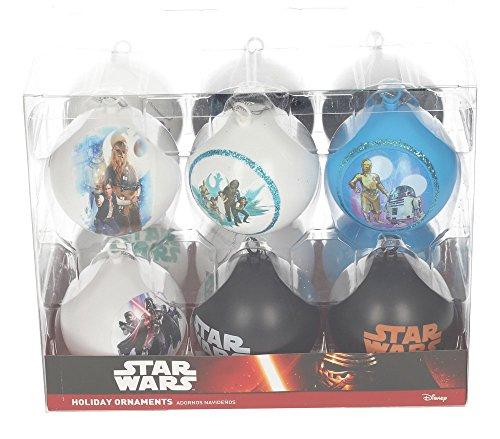 Star Wars sdtsdt89743–Set Weihnachtskugeln, Weiß