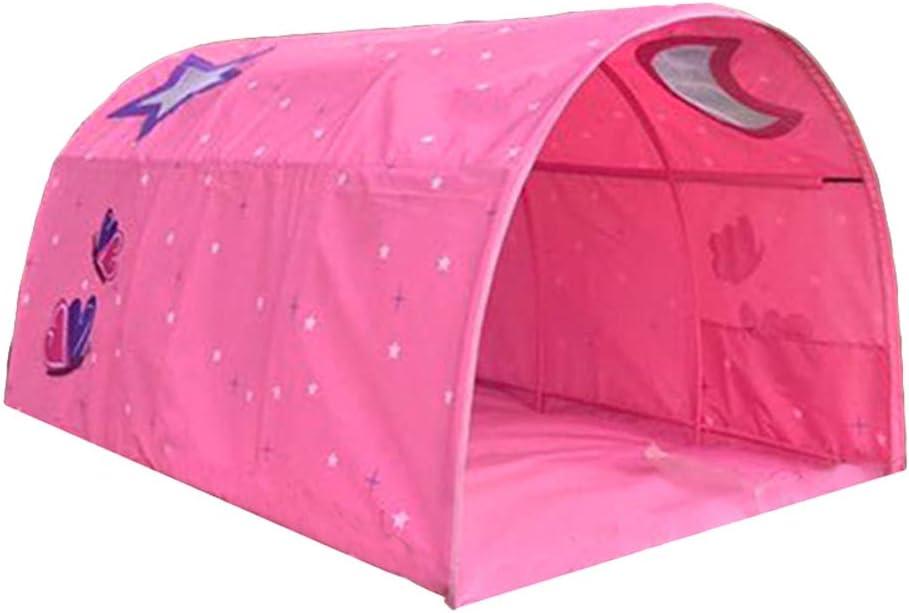 90 /– 100 cm de ancho Tienda de campa/ña para cama de cabina infantil color azul HI SUYI