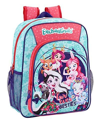 Enchantimals Oficial Mochila Escolar Junior 320x120x380mm