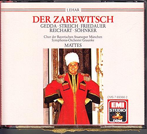 Lehar: Der Zarewitsch