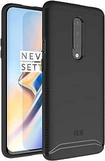 OnePlus 7 Proケース、スリムフィットTUDIA [MERGE] OnePlus 7 Pro (2019)用エクストリームプロテクティブプレミアムデュアルレイヤー精密カットアウト電話ケース (マットブラック)