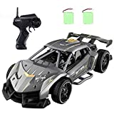RC Cars for Boys 8-12, EACHINE EC05 RC Drift Sports Racing Cars Alloy 15 Km/h High Speed 40 mins Electric Vehicle RC Drag Cars Super Cars Large Toys Gift for Kids and Adult