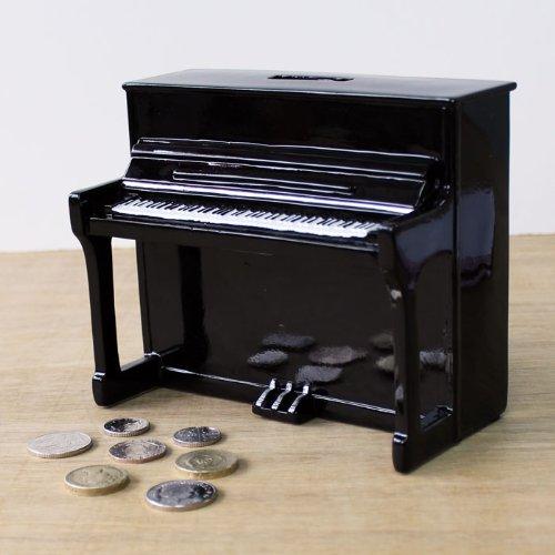My Music Geschenke Piano Geld Box schwarz