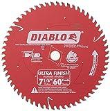 Freud D0760A Diablo 7-1/4' x 60-Tooth Ultra Fine...