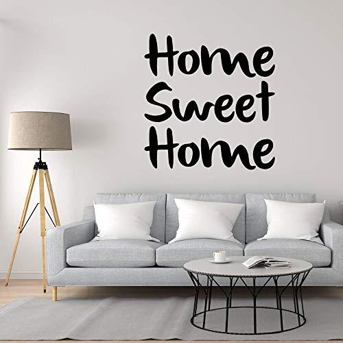 Kjlfow Vinilos Decorativos Familiares Pegatinas para el hogar y el Dormitorio decoración Desmontable 80x82cm