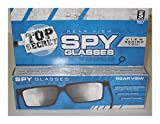 Unbranded Top Secret Spy Glasses - Magic Trick, Rear-View, Mirror Glasses, Joke/Gag/Prank Popular Toys