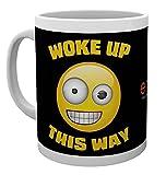 GB eye Emoji, Woke Up This Way, Mug, Ceramic Various, 15 x 10 x 9 cm
