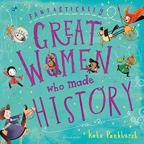 Fantastically Great Women Who Made History audiobook cover art