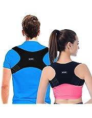 Rak hållare för hållningskorrigering ryggstöd axelrem hållningsrem hållningskorrigerare för nacke rygg axlar smärtor för män och kvinnor