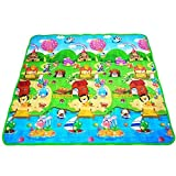 Octopus prime Waterproof Anti Skid Double Sided Playmat for Babies with Zip Bag