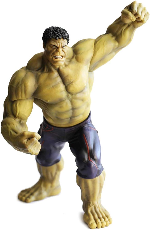 Hyzb Vengeurs modèle Hulk Fait Main Jouets Artisanat Boîte de Cadeau de PVC 27cm