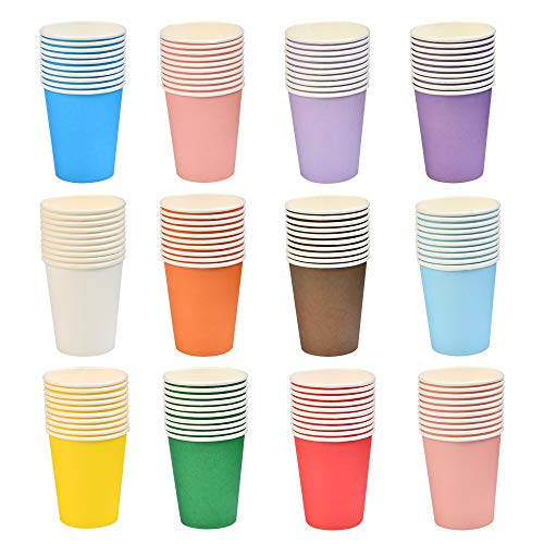 Vasos Desechables Colores Marca HONMIED