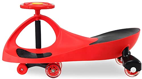 Kinder Twist Car Universal Rad Yo Auto 1-3 Jahre Alte M er Und Frauen Baby Roller Swing Auto Mit Musik Xuan - worth having (Farbe   rot, Größe   Flash wheel)