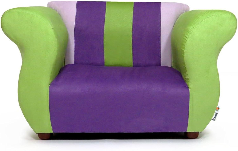 Keet Fancy Kid's Chair, Purple Green