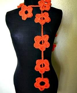 Best crochet lariat flower scarf pattern Reviews