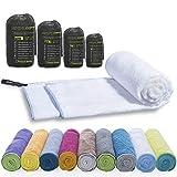 Toalla deportiva de mochila de microfibra LightDry para hombres y mujeres Toalla de viaje...