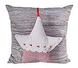 CB Home & Style Dekokissen Winter Weihnachten 45 x 45 cm (Stern) Kissen