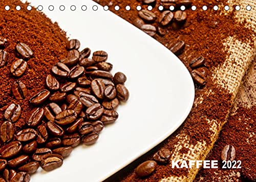 KAFFEE 2022 (Tischkalender 2022 DIN A5 quer)