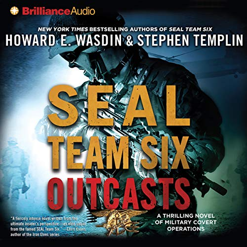 SEAL Team Six Outcasts audiobook cover art