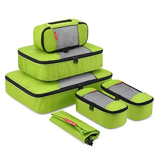 Gonex Kleidertaschen-Set, 6-teilig, 1 Wäschebeutel, 1 mittelgroße, große und 3 kleinste Kleidertasche
