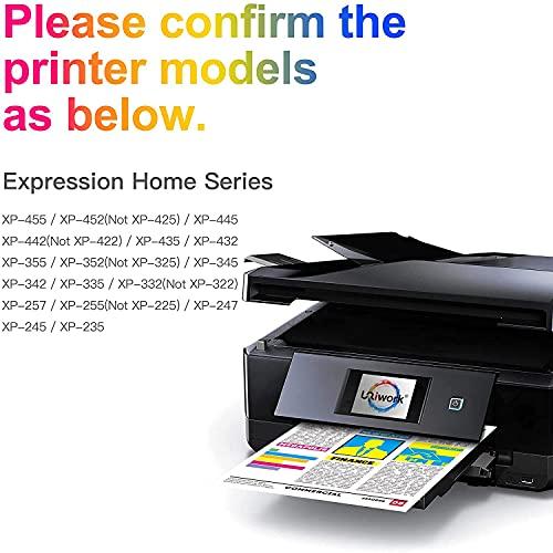 Uniwork 29XL Cartuchos de Tinta Reemplazo para Epson 29 29XL Compatible con Epson Expression Home XP-235 XP-245 XP-247 XP-255 XP-257 XP-332 XP-335 XP-342 XP-345 XP-352 XP-355 XP-432 XP-435