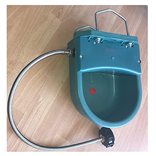 UZMAN - Bebedero de 4 litros + juego de conexión IBC contenedor, tanque, bebedero flotante, caballos, ganado, vacas de ovejas, bebedero, bebedero para ganado, caballo, bebedero para ganado.