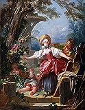 Pintura por números para niños y principiantes kit de pintura pintura acrílica de alta calidad pintura al óleo (sin marco) - Fragonard Paintings