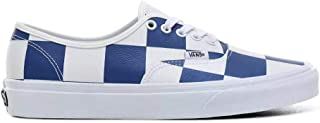 VANS(ヴァンズ) LEATHER CHECK AUTHENTIC [メンズ] VN0A2Z5IT67【true whte/true blue/25.5cm(US7.5)-28cm(US10)】