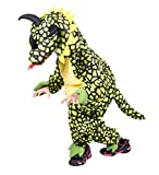 Dino-Kostüm Triceratops F123 Gr. 110-116, klein-e Kind-er Dinosaurier-Kostüme Saurier Drache-n Fasching-s Karneval-s Geburtstags-Geschenk