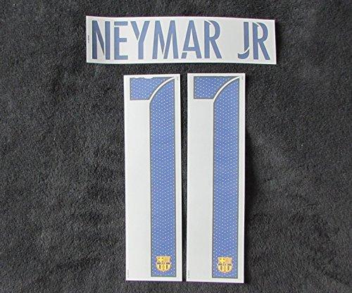 Nike Original 2015–2016Barcelone FC Neymar Jr Flock pour Coupé Maillot Neuf