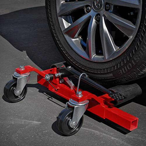 Stark Set of (2) Truck Car Wheel Moving Dolly Ratchet Type Auto Tire Lift Wheel Dolly Car Skates...