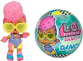 L.O.L. Surprise!- LOL Surprise Dolls Dance-8 Sorpresas, Ropa de Marca y Accesorios de Moda-Incluye Pista Giratoria y...