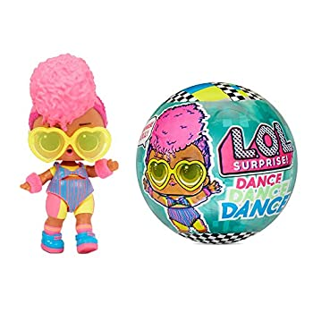 LOL Surprise Dance Dance Dance Dolls with 8 Surprises Including Doll Dance Floor That Spins Dance Move Card and Accessories - Great Gift for Girls Age 4-7