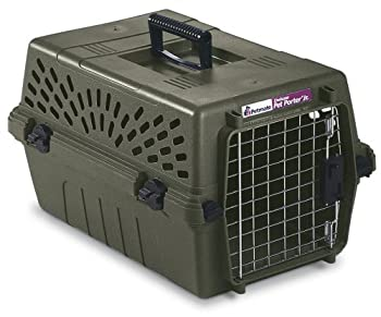 Petmate Deluxe Pet Porter Jr Kennel Small Moss Bank
