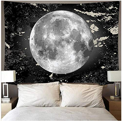 BD-Boombdl Tapestry Wall Mount Moon Decoration Beach Blanket Camping Tent Travel Mattress Corridor Hotel Christmas Decoration 200x150 cm