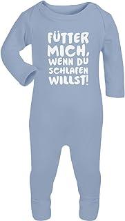 Bester Baby Spruch - Fütter Mich, Wenn Du Schlafen Willst Baby Strampler Strampelanzug