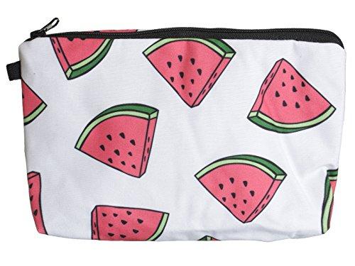 scarlet health | Kosmetiktasche »Beauty« für die Handtasche und als Kulturbeutel auf Reise; kleine, kompakte Schminktasche für Make-Up etc. (Melone)