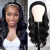 Best Brazilian Virgin Hairs - UNice Body Wave Headband Human Hair Wig Glueless Review