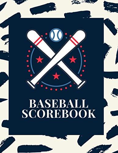 Baseball Scorebook: Baseball Log Book,120 Scoring Sheets For Baseball and Softball Games,Perfect gift for Coaches and Fans: Baseball / Softball Score Sheets / Scorebook