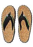 Zion Rootswear Bob Marley Cork 3 Reggae Music Mens Flip Flop Sandals (8)