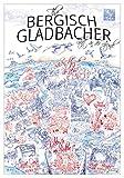 Lieferlokal.de The Bergisch Gladbacher - Städteposter,