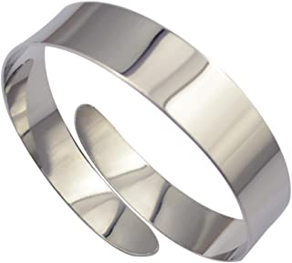 Tinde Minimalist Simple Swirl Upper Arm Cuff Bracelets for Women Girls Arm Bangle Armlets Adjustable Armband Bangle