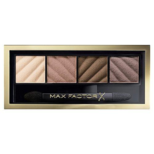Max Factor Smokey Eye Dramakit Alluring Nude 10, Eyeshadow-Set für den klassischen Look, 30 g