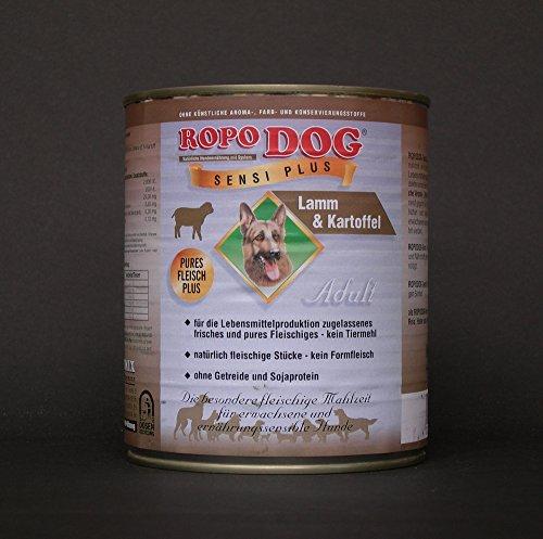 RopoDog 30 Dosen à 800 gr Adult Sensi Plus Lamm + Kartoffel