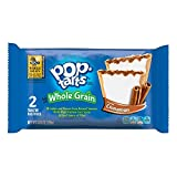 Pop-Tarts Breakfast Toaster Pastries, Whole Grain Frosted Brown Sugar Cinnamon Flavored, Bulk Size, 144 Count (Pack of 12, 21.1 oz Boxes)
