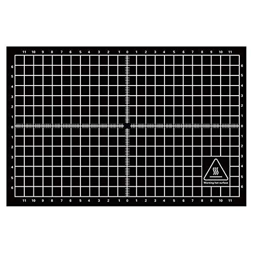 Peanutaoc 200 * 300mm Herbruikbare 3D Printer Warmte Bed Sticker Hot Bed Oppervlakteplaat Eenvoudige Platform Sticker voor 3D Printer Accessoires