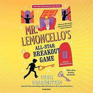 Page de couverture de Mr.Lemoncello's All-Star Breakout Game