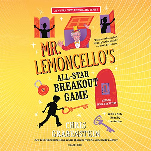 Mr. Lemoncello's All-Star Breakout Game      Mr. Lemoncello's Library, Book 4              By:                                                                                                                                 Chris Grabenstein                               Narrated by:                                                                                                                                 Jesse Bernstein,                                                                                        Chris Grabenstein                      Length: 6 hrs and 4 mins     24 ratings     Overall 4.8