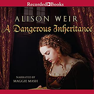 A Dangerous Inheritance audiobook cover art